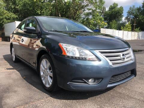 2013 Nissan Sentra for sale at PARK AVENUE AUTOS in Collingswood NJ