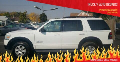 2007 Ford Explorer for sale at Truck 'N Auto Brokers in Pocatello ID