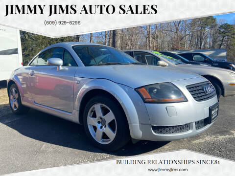 2002 Audi TT for sale at Jimmy Jims Auto Sales in Tabernacle NJ