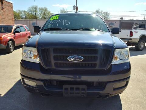 2005 Ford F-150 for sale at Arak Auto Group in Bourbonnais IL