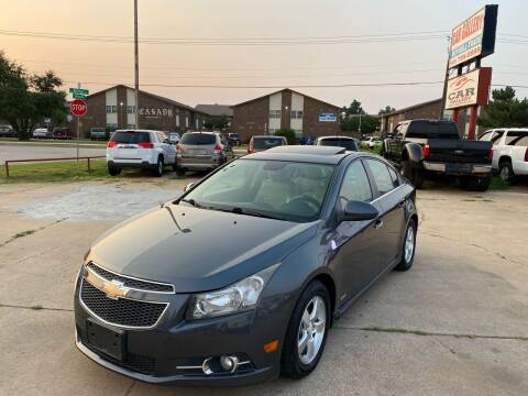 2013 Chevrolet Cruze for sale at Car Gallery in Oklahoma City OK