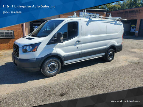 2017 Ford Transit Cargo for sale at H & H Enterprise Auto Sales Inc in Charlotte NC
