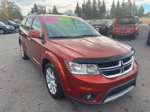 2014 Dodge Journey for sale at BELOW BOOK AUTO SALES in Idaho Falls ID