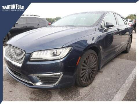 2017 Lincoln MKZ for sale at BARTOW FORD CO. in Bartow FL