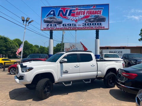 2016 Toyota Tacoma for sale at ANF AUTO FINANCE in Houston TX