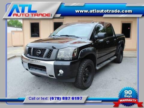 2014 Nissan Titan for sale at ATL Auto Trade, Inc. in Stone Mountain GA