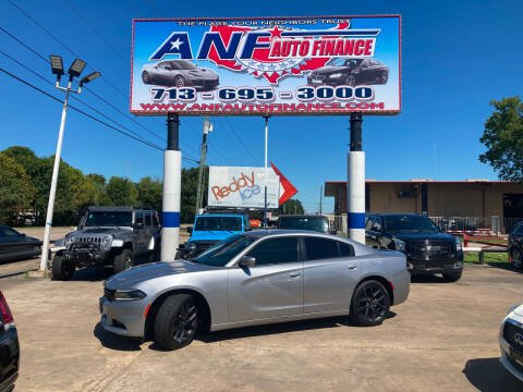 2015 Dodge Charger for sale at ANF AUTO FINANCE in Houston TX