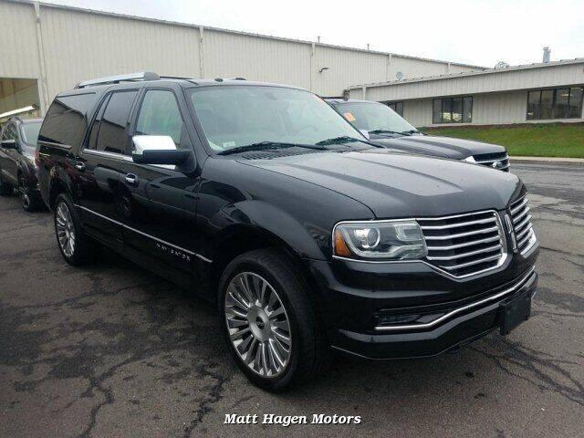 2015 Lincoln Navigator L for sale at Matt Hagen Motors in Newport NC