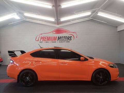 2014 Dodge Dart for sale at Premium Motors in Villa Park IL