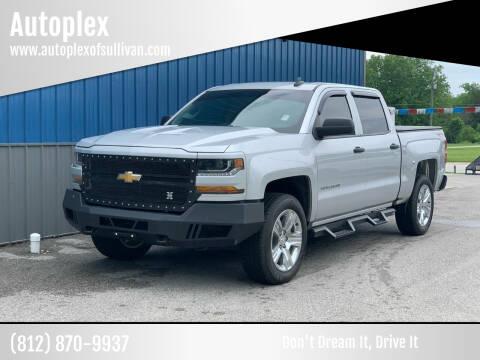 2018 Chevrolet Silverado 1500 for sale at Autoplex in Sullivan IN