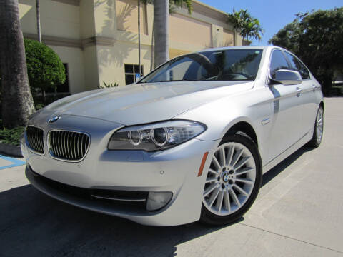 2012 BMW 5 Series for sale at FLORIDACARSTOGO in West Palm Beach FL