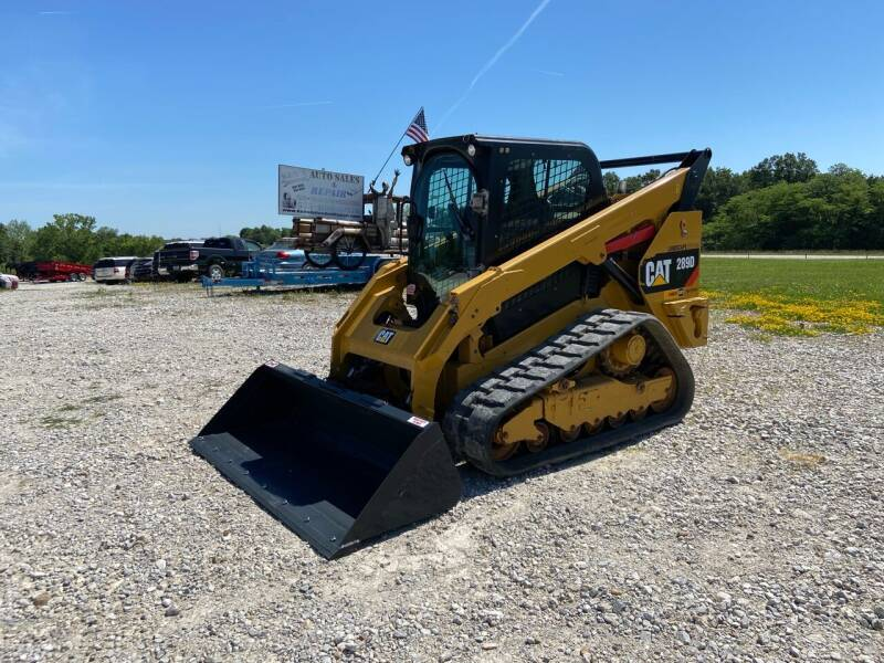 2018 Caterpillar 289D Track Machine Skid Steer for sale at Ken's Auto Sales & Repairs in New Bloomfield MO