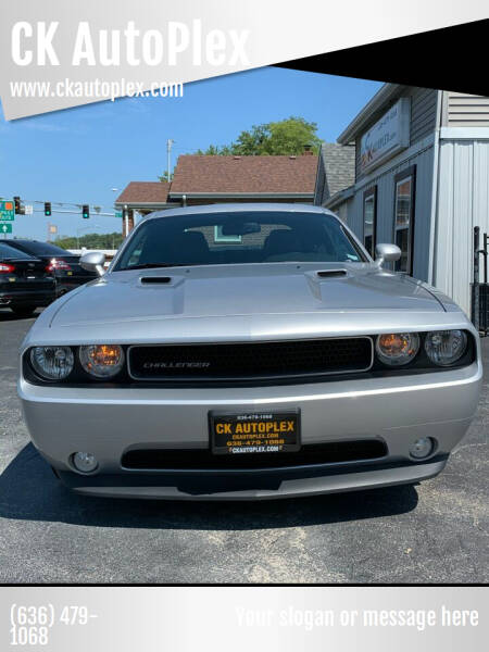 2012 Dodge Challenger for sale at CK AutoPlex in Crystal City MO