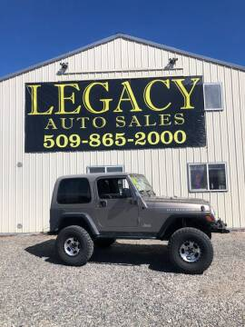 2006 Jeep Wrangler for sale at Legacy Auto Sales in Toppenish WA