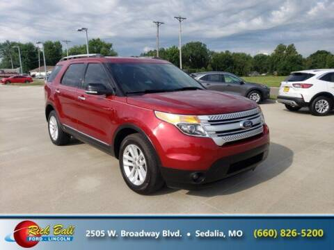 2014 Ford Explorer for sale at RICK BALL FORD in Sedalia MO