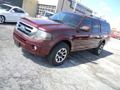 2012 Ford Expedition EL for sale at Meridian Auto Sales in San Antonio TX