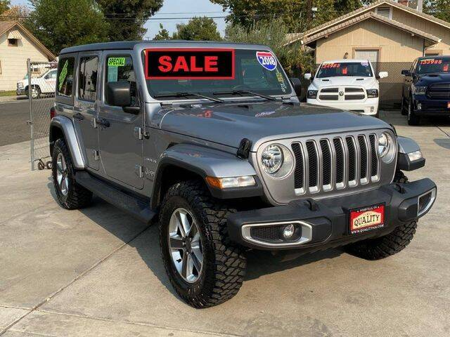 2018 Jeep Wrangler Unlimited for sale at Quality Pre-Owned Vehicles in Roseville CA