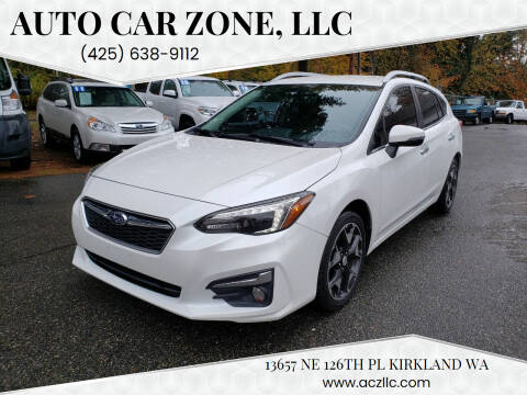 2017 Subaru Impreza for sale at Auto Car Zone, LLC in Kirkland WA