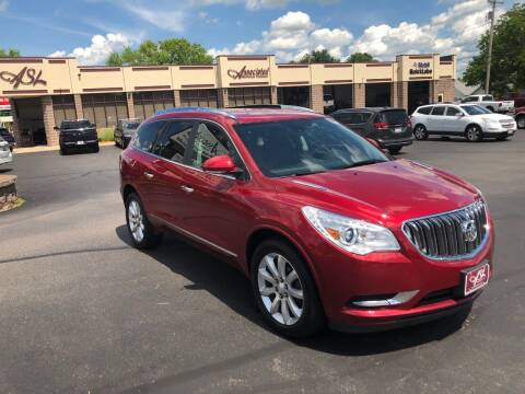 2014 Buick Enclave for sale at ASSOCIATED SALES & LEASING in Marshfield WI
