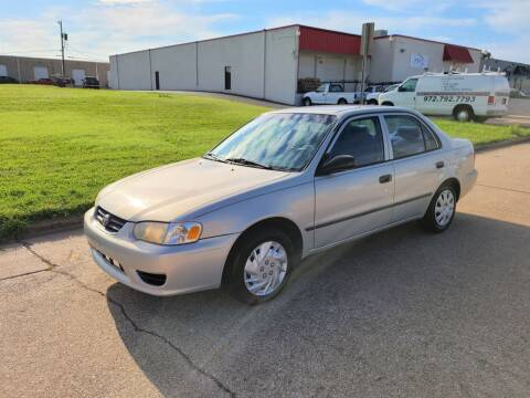 2002 Toyota Corolla for sale at Image Auto Sales in Dallas TX