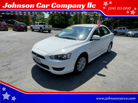 2010 Mitsubishi Lancer for sale at Johnson Car Company llc in Crown Point IN