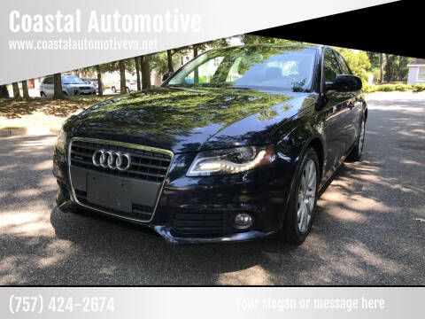 2011 Audi A4 for sale at Coastal Automotive in Virginia Beach VA