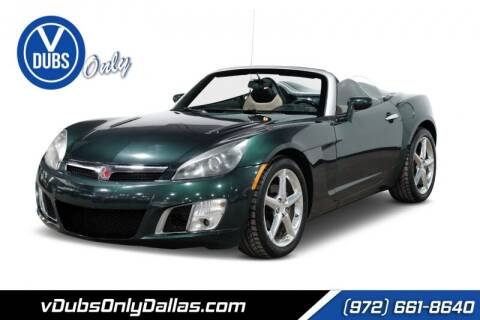 2008 Saturn SKY for sale at VDUBS ONLY in Dallas TX