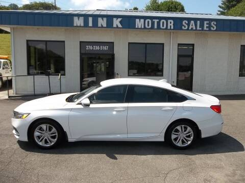 2020 Honda Accord for sale at MINK MOTOR SALES INC in Galax VA