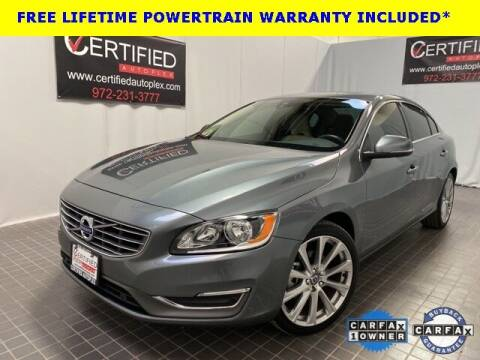 2018 Volvo S60 for sale at CERTIFIED AUTOPLEX INC in Dallas TX