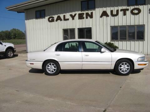 2002 Buick Park Avenue for sale at Galyen Auto Sales in Atkinson NE