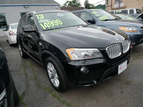 2013 BMW X3 for sale at M & R Auto Sales INC. in North Plainfield NJ