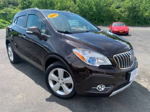 2015 Buick Encore for sale at Bob Karl's Sales & Service in Troy NY