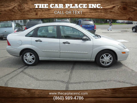 2003 Ford Focus for sale at THE CAR PLACE INC. in Somersville CT