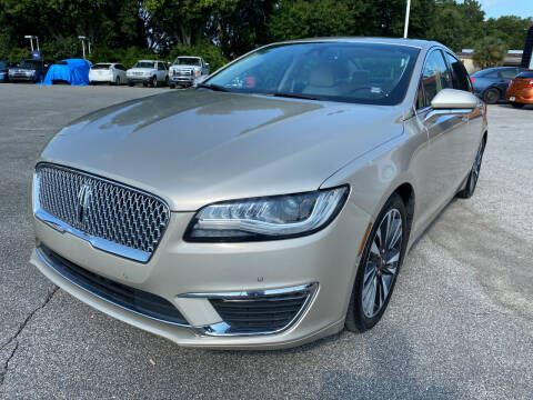 2017 Lincoln MKZ for sale at Capital City Imports in Tallahassee FL