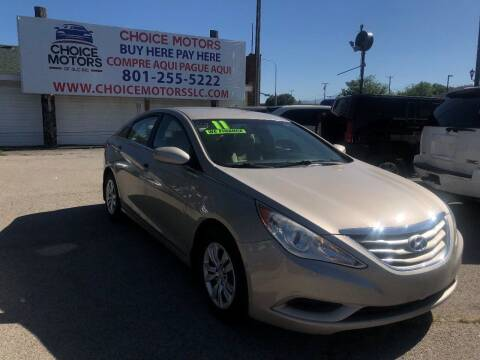 2011 Hyundai Sonata for sale at Choice Motors of Salt Lake City in West Valley  City UT