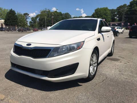 2011 Kia Optima for sale at Certified Motors LLC in Mableton GA