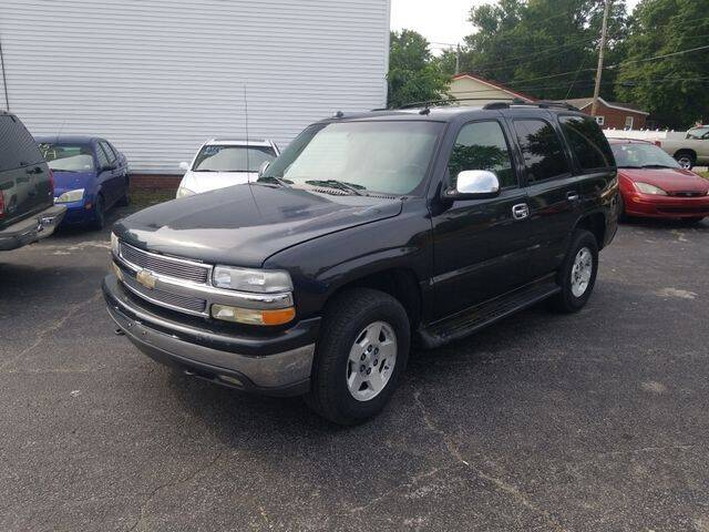 2004 Chevrolet Tahoe for sale at JC Auto Sales in Belleville IL