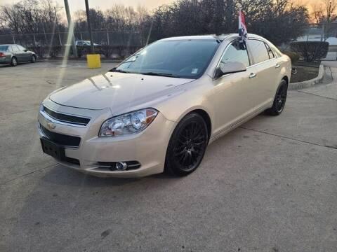 2012 Chevrolet Malibu for sale at G & R Auto Sales in Detroit MI
