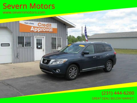 2013 Nissan Pathfinder for sale at Severn Motors in Cadillac MI