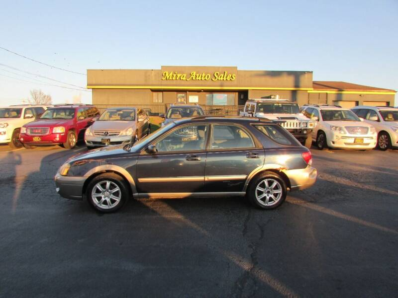 2005 Subaru Impreza for sale at MIRA AUTO SALES in Cincinnati OH