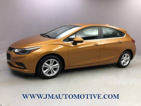 2017 Chevrolet Cruze for sale at J & M Automotive in Naugatuck CT