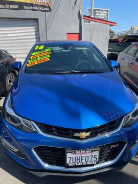 2016 Chevrolet Cruze for sale at Rey's Auto Sales in Stockton CA