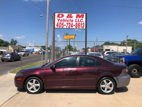 2008 Mazda MAZDA6 for sale at D & M Vehicle LLC in Oklahoma City OK