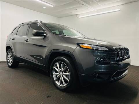 2017 Jeep Cherokee for sale at Champagne Motor Car Company in Willimantic CT