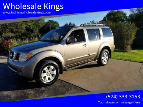 2005 Nissan Pathfinder for sale at Wholesale Kings in Elkhart IN