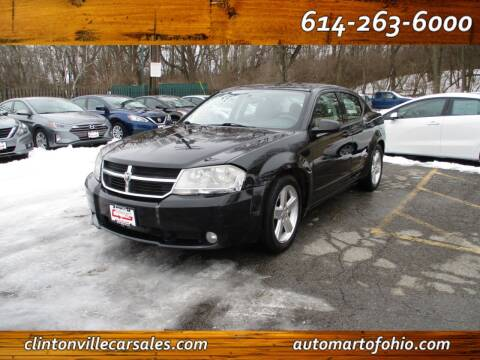 2008 Dodge Avenger for sale at Clintonville Car Sales - AutoMart of Ohio in Columbus OH