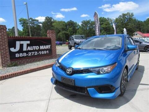 2018 Toyota Corolla iM for sale at J T Auto Group in Sanford NC