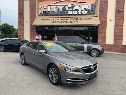 2019 Buick LaCrosse for sale at CITY CAR AUTO INC in Nashville TN