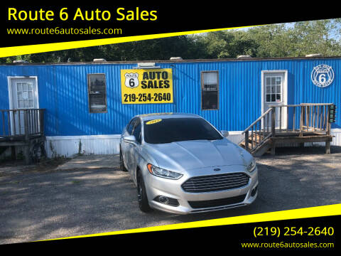 2013 Ford Fusion for sale at Route 6 Auto Sales in Portage IN