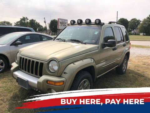 2002 Jeep Liberty for sale at Marti Motors Inc in Madison IL